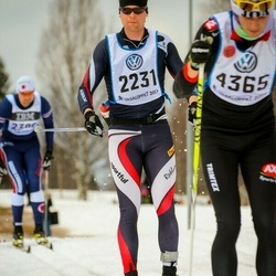 Skiing 90 km - Adam Kanka (2231)