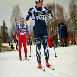 Skiing 90 km - Daniel Karlsson (2323)