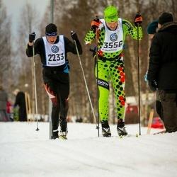 Skiing 90 km - Jann Ehrensperger (2233), Petr Kovar (3556)