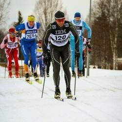 Skiing 90 km - Daniel Sandoz (120)