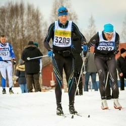 Skiing 90 km - Daniel Larsson (3209)