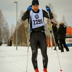 Skiing 90 km - Åke Carlsson Sköld (2290)