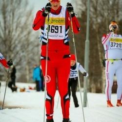 Skiing 90 km - Andreas Eriksson (4691)