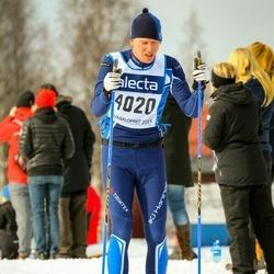 Skiing 90 km - Anders Moverare (4020)