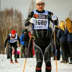 Skiing 90 km - Jarmo Juntura (3680)