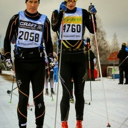 Skiing 90 km - Anders Eriksson (2058), Andreas Bertilsköld (4760)