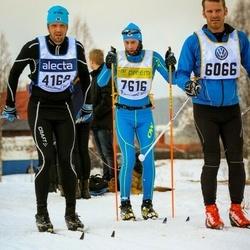 Skiing 90 km - Andreas Henningsson (4169), Dmitriy Syamtomov (7616)