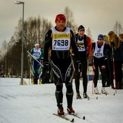 Skiing 90 km - Hubert Inglin (7698)