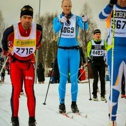 Skiing 90 km - Martin Grysell (6069), Bruno Martig (7716)