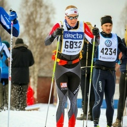 Skiing 90 km - Anders Wadman (4234), Daniel Karlsson (6832)