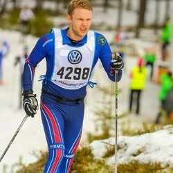 Skiing 90 km - Fredrik Wessberg (4298)