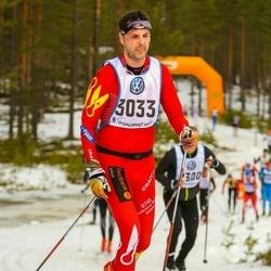 Skiing 90 km - Henrik Andersson (3033)