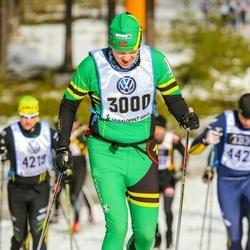 Skiing 90 km - Eirik Marthinsen (3000)