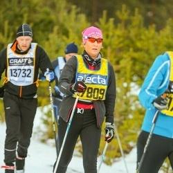 Skiing 90 km - Jenny Glimsjö (17809)