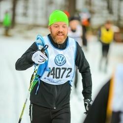 Skiing 90 km - Daniel Theander (14072)