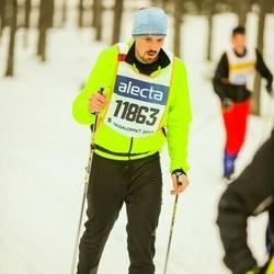 Skiing 90 km - David Nydahl (11863)