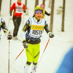 Skiing 90 km - Alessandro De Zordo (10511)
