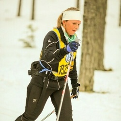 Skiing 90 km - Jeanette Haugen (19252)