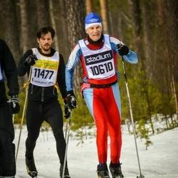 Skiing 90 km - Anders Helander (10610), Martin Björnestam (11477)