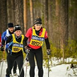 Skiing 90 km - Ellen Hedrén (18927)