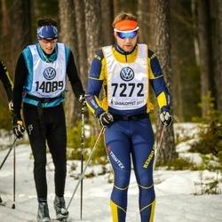 Skiing 90 km - Dennis Sohlin (7272), Viktor Bäck (14089)