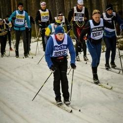 Skiing 90 km - Tony Henriksson (10687), Daniel Wikberg (10936)