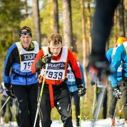 Skiing 90 km - Carl-Johan Sunnerholm (7939)