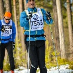 Skiing 90 km - Henrik Thunborg (7353)
