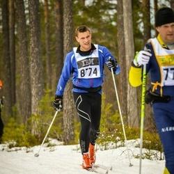 Skiing 90 km - Henrik Rams (8774)