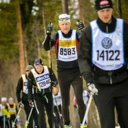 Skiing 90 km - Henrik Sievers (8983)