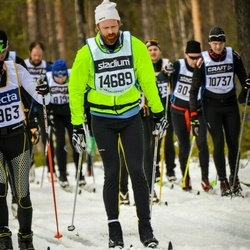Skiing 90 km - Janne Juujärvi (14698)