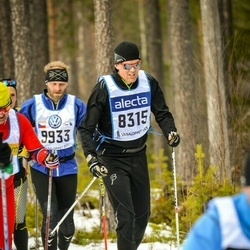 Skiing 90 km - Fredrik Ljungkull (8315)
