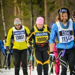 Skiing 90 km - Jan-Olov Berglin (13801), Annette Köhler (18886)