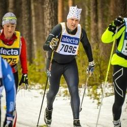 Skiing 90 km - Fredrik Hellström (7096)