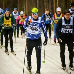 Skiing 90 km - Daniel Larsson (14845)