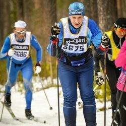 Skiing 90 km - Daniel Kågemalm (6675)