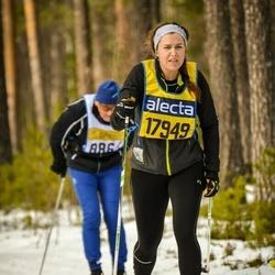 Skiing 90 km - Alma Rydberg (17949)