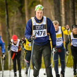 Skiing 90 km - Anders Andersson (7478)
