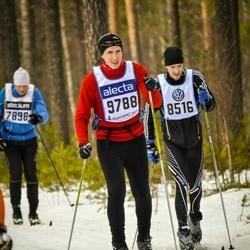 Skiing 90 km - Anton Hammarström (8516), Antti Koivisto (9788)