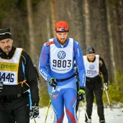 Skiing 90 km - David Ranfalk (9803)