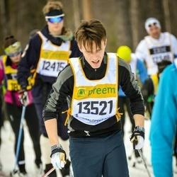 Skiing 90 km - Fredrik Lundgren (13521)