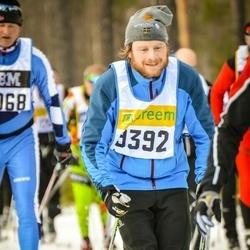Skiing 90 km - Henrik Nordin (9392)