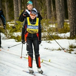 Skiing 90 km - Jenny Eljas (17862)