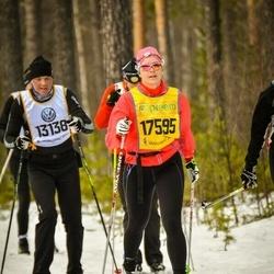 Skiing 90 km - Jenny Gustafsson (17595)
