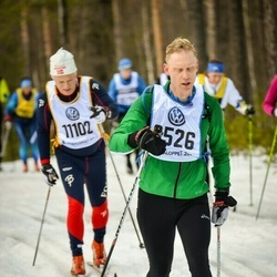 Skiing 90 km - Henrik Runnander (8526)