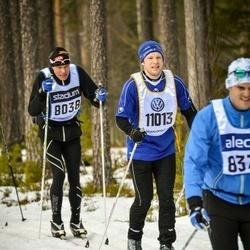 Skiing 90 km - Stefan Bellner (8038), David Paulsson (11013)