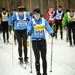 Skiing 90 km - Daniel Björkman (8948)