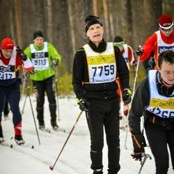 Skiing 90 km - Bjarne Mattsson (7759)