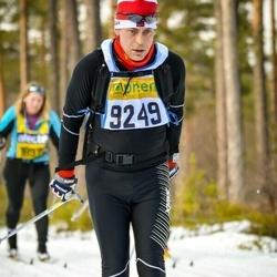 Skiing 90 km - Christian Gran (9249)