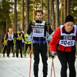Skiing 90 km - Anders Persson (9045), Carl-Fredrik Ahnsberg (11661)